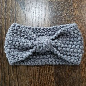 Other - Grey Knitted Headband